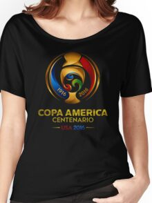 Copa America 2016 USA Logo Women's Relaxed Fit T-Shirt