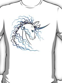 Ki-Rin (Japanese Unicorn) - Blue T-Shirt