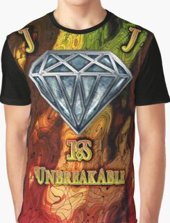Diamond is Unbreakable Graphic Design High Quality Graphic T-Shirt