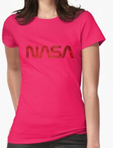 NASA Vintage Emblem 1975-1992 Womens Fitted T-Shirt