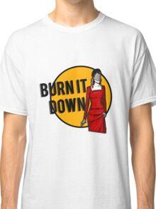 Shosanna Burns it Down Classic T-Shirt