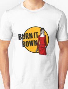 Shosanna Burns it Down Unisex T-Shirt