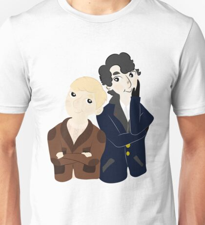 John and Sherlock  Unisex T-Shirt