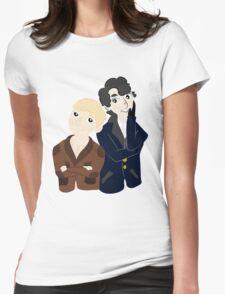 John and Sherlock  Womens Fitted T-Shirt