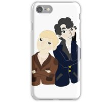 John and Sherlock  iPhone Case/Skin