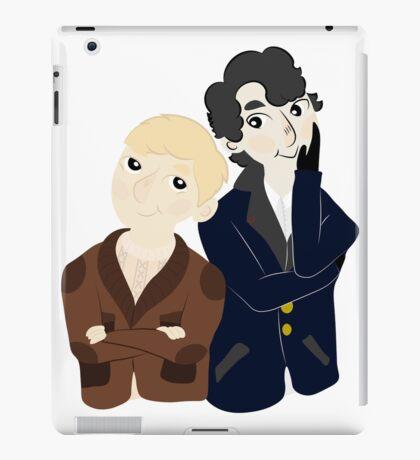 John and Sherlock  iPad Case/Skin