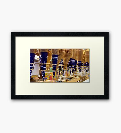 Waffle Cones Framed Print