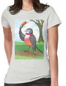 Top Of The Morning To You Womens Fitted T-Shirt