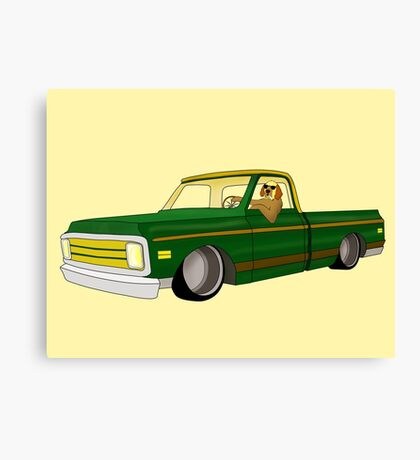 Picture Me Rollin' Canvas Print