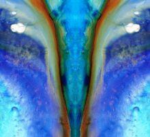 Metamorphosis - Abstract Art By Sharon Cummings Sticker