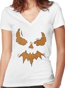 Villan Scarecrow  Women's Fitted V-Neck T-Shirt