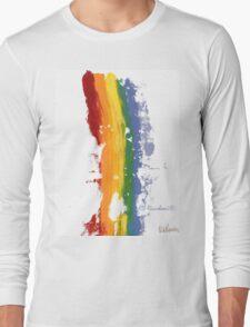 Pride Parade Rainbow Diversity Long Sleeve T-Shirt