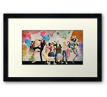 Straw Hat Crew - One piece Framed Print