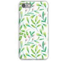 Nature in watercolor iPhone Case/Skin
