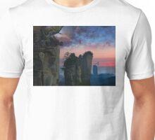 Rock Tower World - dreamscape illustration Unisex T-Shirt