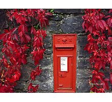 ENGLISH MAILBOX Photographic Print