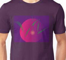 Double Moon Purple Night Abstract Art Unisex T-Shirt