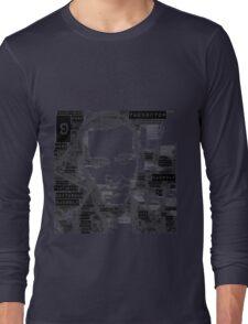 9th doctor word art Long Sleeve T-Shirt