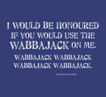 Wabbajack 1 White for Tanktop, V-neck, scoop neck. by CaelisMiran