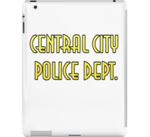 CENTRAL CITY PD iPad Case/Skin