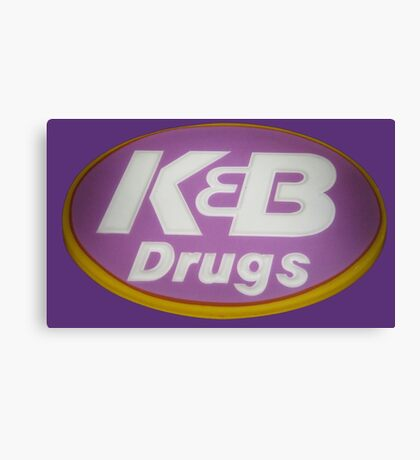 K&B Drugs Canvas Print