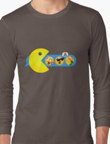 Hungry hungry Pacman Long Sleeve T-Shirt