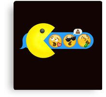 Hungry hungry Pacman Canvas Print