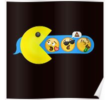 Hungry hungry Pacman Poster