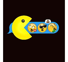 Hungry hungry Pacman Photographic Print