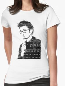 10th doctor Womens Fitted T-Shirt