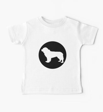 Newfoundland Dog Baby Tee