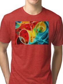 Pure Joy 1 - Abstract Art By Sharon Cummings Tri-blend T-Shirt