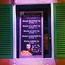 Open Shutters Menu by phil decocco