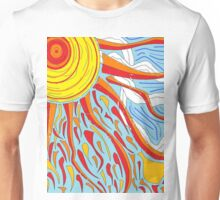 Sun and Clouds Unisex T-Shirt
