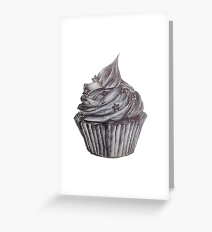Frosted Cupcake Greeting Card