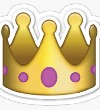 Crown Emoji Sticker