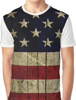 USA Flag Graphic T-Shirt