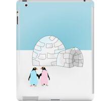 Pastel Penguins and Igloo iPad Case/Skin