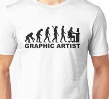 Evolution graphic artist Unisex T-Shirt