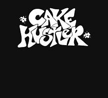 Cake Hustler : white letters Women's Fitted Scoop T-Shirt