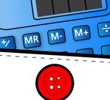 The Calculator Doesn't Lie  Sticker