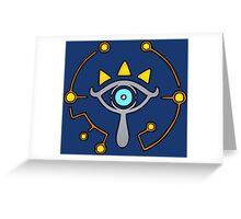 The Sheikah Slate Greeting Card