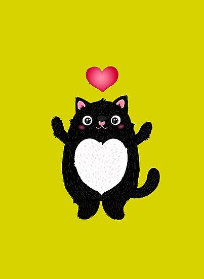 Fat Cat by Anna Alekseeva