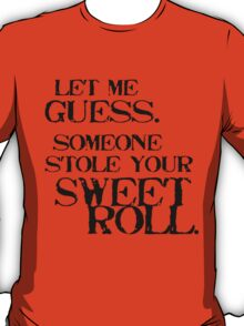 Sweetroll 1 Black for everything except Tanktop, V-neck, scoop neck T-Shirt