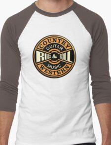 Country Western Rock&roll Men's Baseball ¾ T-Shirt
