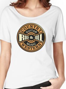 Country Western Rock&roll Women's Relaxed Fit T-Shirt