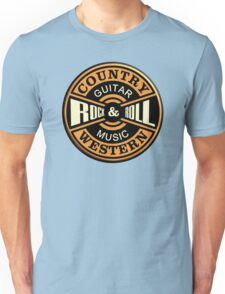 Country Western Rock&roll Unisex T-Shirt