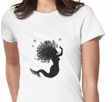 Mermaid & Starfish Womens Fitted T-Shirt