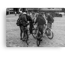 Bicycle Nerds Metal Print