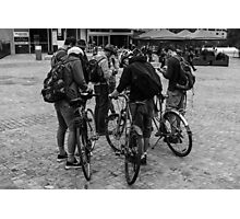 Bicycle Nerds Photographic Print
